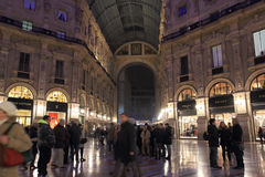 Milan night Life Stock Photography