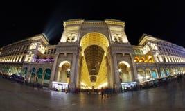 Milan Nightscape Fotos de archivo libres de regalías