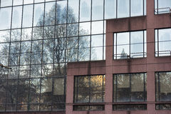 Milan nowoczesny budynek Obraz Stock