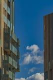 Milan nowoczesny budynek Fotografia Stock