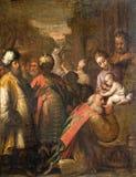 Milan - paint of Three Magi Royalty Free Stock Image