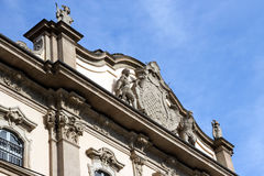 Milan - Palazzo Litta, coat of arms on the facade Stock Photography