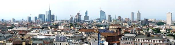 Milan panorama Stock Photography