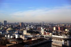 Milan, panoramic view Stock Image