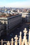 Milan, panoramic view Stock Photo