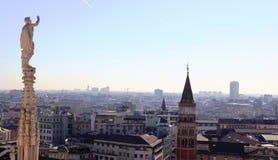 Milan, Panoramic View Stock Photography