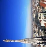 Milan, panoramic view Stock Photos