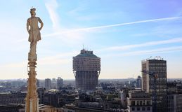 Milan, panoramic view Stock Photography