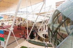 Milan 2015 - pavillon d'Azerbaidjan image libre de droits
