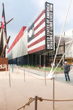 Milan 2015 - pavillon des Etats-Unis photos libres de droits