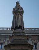 Milan 1. The Piazza del Duomo in Milan Stock Photography