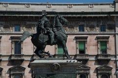 Milan 14. The Piazza del Duomo in Milan Stock Photography