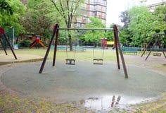 Milan Playground Stockbilder