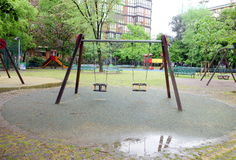 Milan Playground Stock Images