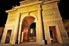 Milan, Porta Garibaldi in Corso Como district Royalty Free Stock Photography