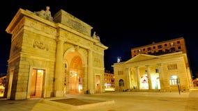 Milan, Porta Garibaldi in Corso Como district Royalty Free Stock Image
