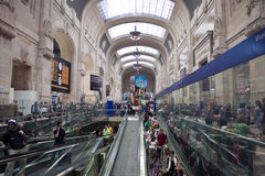 Milan railway station Royalty Free Stock Photo
