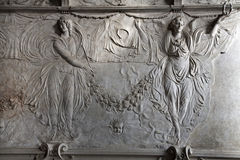 Milan - relief of agnels Stock Photography