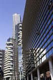 Milan - Residential building in Porta Nuova district one of the main business districts of Milan, Lombardy Italy royalty free stock photography