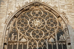 Milan - rosette of cathedral Stock Photos