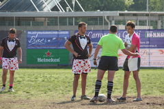 Milan Rugby Festival 2014 Royalty Free Stock Photos
