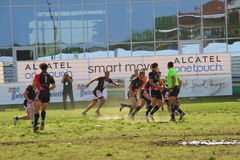 Milan Rugby Festival 2014 Stock Photography
