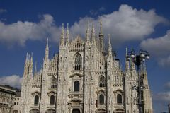 Milan's dome Royalty Free Stock Photos