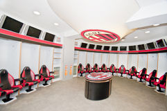 Milan's FC Locker Room Royalty Free Stock Image