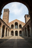 Milan - San Ambrogio - Ambrosius church Stock Photos