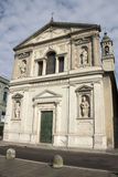 Milan - San Barnaba church, mannerist facade - Lombardy Stock Photography