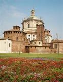 Milan - San Lorenzo - Saint Lorenzo church Stock Photo