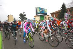 Milan-San Remo Cycle Race, 101st edition royalty free stock photos