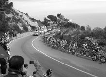 Milan-Sanremo Cycle Race 2011 Royalty Free Stock Image
