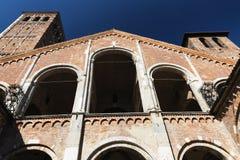 Milan: Sant'Ambrogio church Royalty Free Stock Image