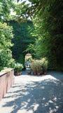 Milan secret place centro incisione. Centro dell incisione near navigli Milano edera green wall Stock Photos
