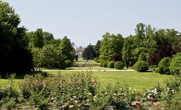 Milan. Sempione's park with the arch of the World. Stock Photos
