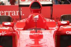 MILAN - SEPTEMBER 19, 2015: Ferrari pavilion, world exhibition Expo 2015. Royalty Free Stock Photos