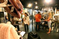 milan shopping Arkivfoto