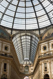 Milan shopping Centre with ceiling dome Royalty Free Stock Photography
