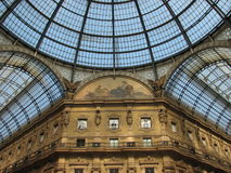 Milan Shopping Gallery Royalty Free Stock Photography