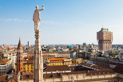Milan skyline Stock Images