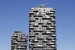 Milan skyline Royalty Free Stock Images