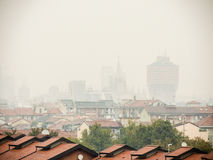 Milan skyline Royalty Free Stock Photography