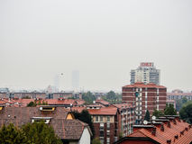 Milan skyline Stock Image