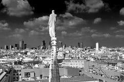 Milan skyline Stock Images