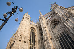 Milan - south-east part of cathedral Royalty Free Stock Image