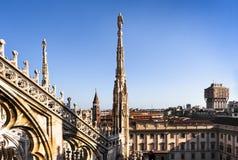 Milan stad Italien fotografering för bildbyråer