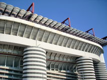 milan stadion Arkivfoton