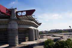Milan stadium san siro curve Stock Photography