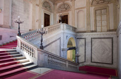 Milan staircase palazzo reale Stock Images